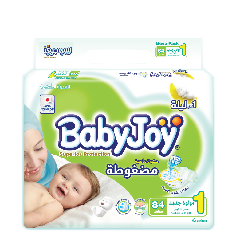 BabyJoy Tape Diaper 1(Newborn)